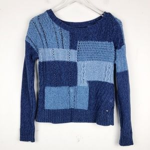 American Eagle Outfitters Patch Work Sweater